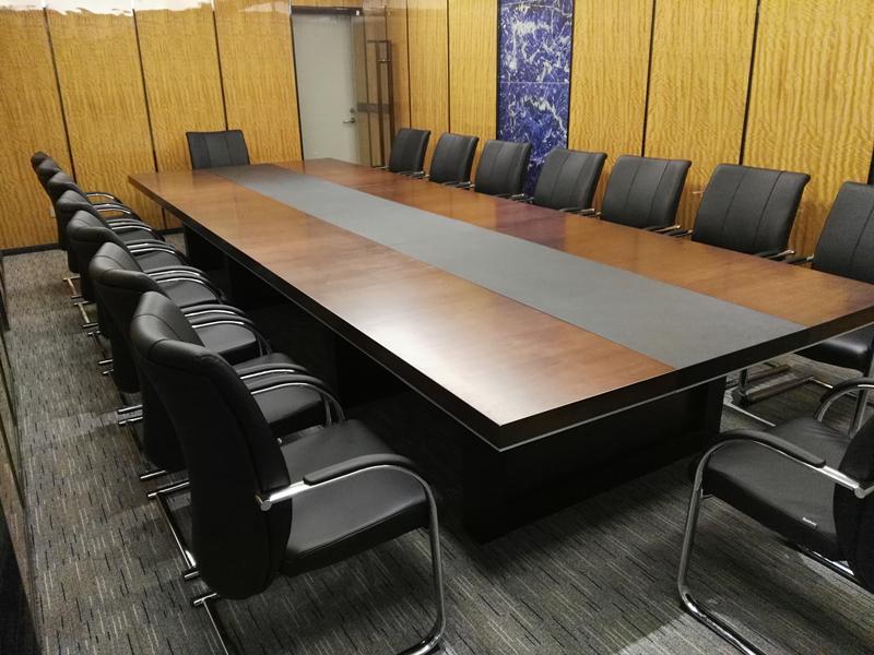 乐师傅家具工程案例-龙岗天安数码城-圣奥家具-办公桌椅/卡位/会议桌安装